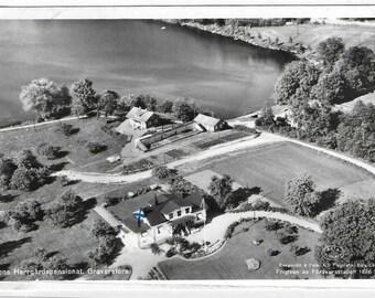 Pensionat Stensvik -  Stens Herrgard Guesthouse, Graversfors, SWEDEN - Used Vintage Postcard Posted on 11th July 1960