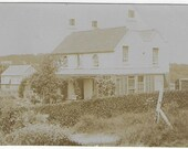 Faded Photo of a Large Detached Country House - Unused Vintage Postcard