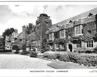 WESTMINSTER COLLEGE, CAMBRIDGE - Used Vintage Postcard Posted on 8th April 1970