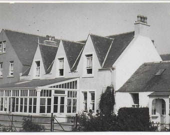 THREE IDENTICAL Vintage Postcards Of a Large House Building - Different Sections through the Ages including Conservatory