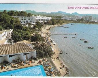 SAN ANTONIO ABAD, Ibiza - Sant Antoni de Portmany - Used Vintage Postcard