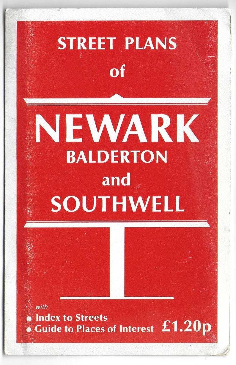 NEWARK Street Plan Published by Clifford J Utting BALDERTON /& SOUTHWELL