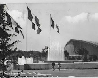 TURIN 1961 EXPO 61 Italy - Vintage Postcard