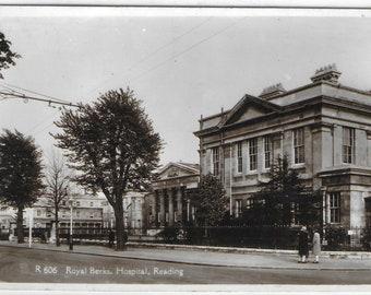 ROYAL BERKSHIRE HOSPITAL, Reading, Berkshire - Used Vintage Postcard Posted on 2 June 1939