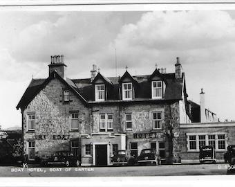 BOAT HOTEL, Boat of Garten, Scotland - Used Valentine's Vintage Postcard