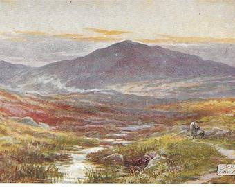 DARTMOOR TAW MARSH, Devon - Unused Vintage Postcard Publishd by Raphael Tuck & Sons Ltd - Oilette Potcard