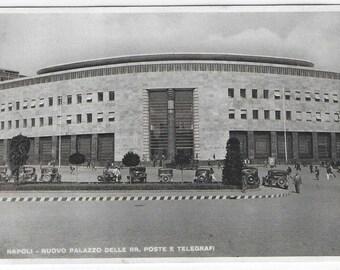 Palazzo delle Regie Poste e Telegrafi di Napoli - Palazzo delle Poste - Unused Vintage Postcard