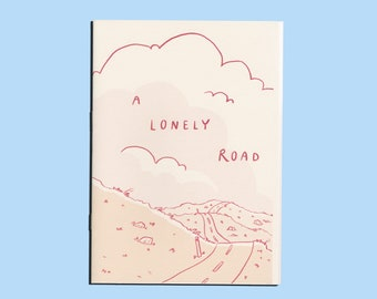 A Lonely Road - A Solo Game A6 Zine