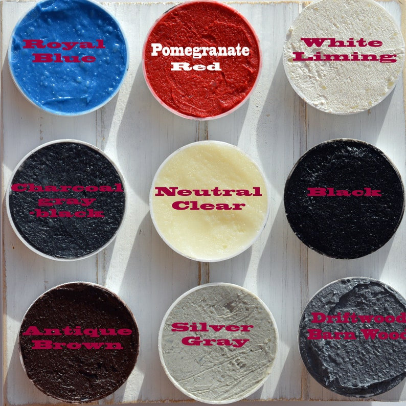 Beeswax Paste Wood Finish /& Polish All Natural Non-Toxic Small Batch Hand Made
