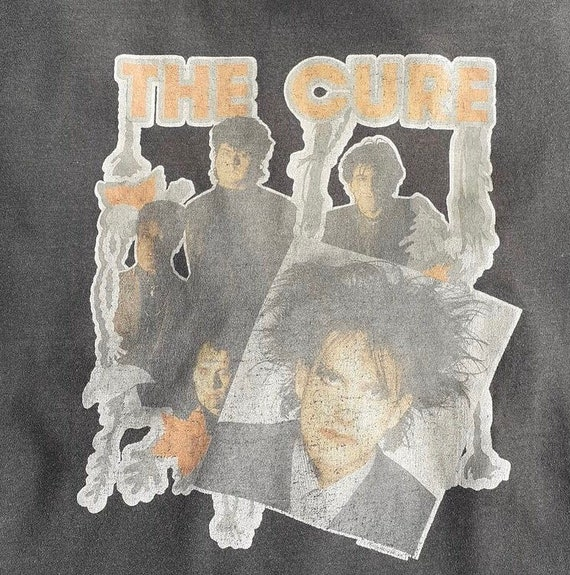 vintage the cure tees magazine 1986