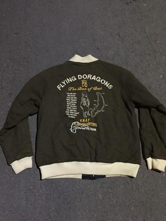 avirex revesible souvenir jacket tour