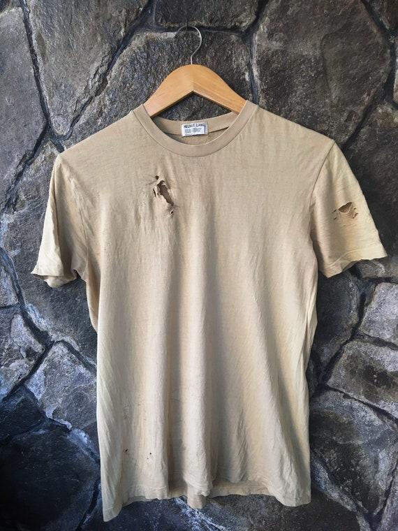 helmut lang tshirt
