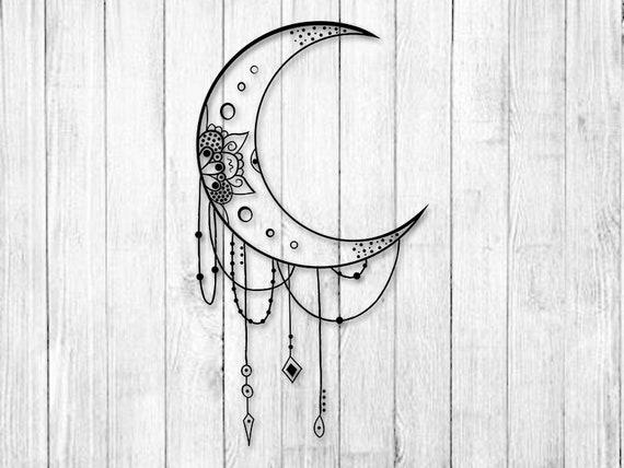 265+ Mandala Moon Svg – SVG Bundles