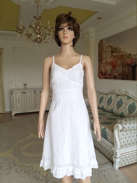 minimalist wedding dress white sundress white dre… - image 2