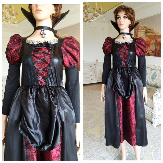 ADULT witch costume witch dress S-M witch Clothing