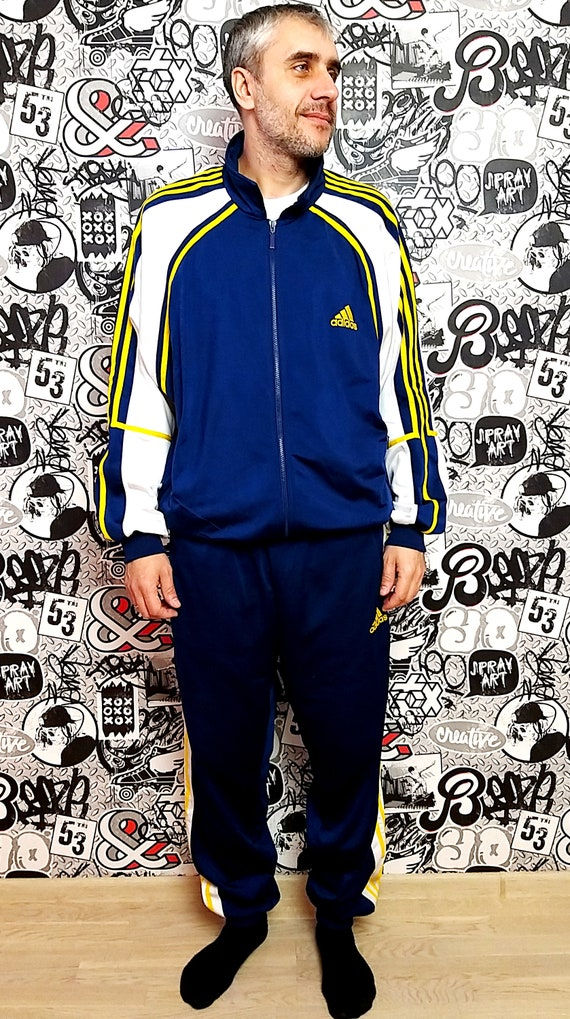 Adidas track suit XL Adidas sport suit vintage  P… - image 6