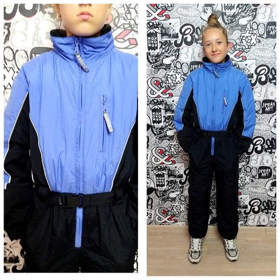 Kids Ski suit 90 ski suit black ski suit mountain