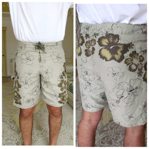 beach shorts summer shorts mens Clothing Khaki me… - image 1