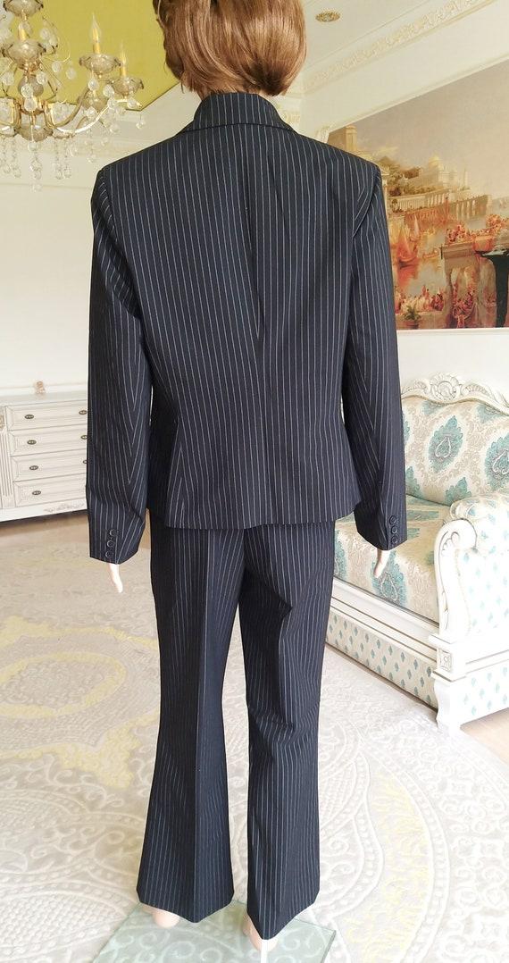 Womens suit vintage Womens pants suit pants set m… - image 7
