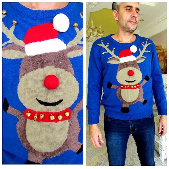 x mas Gift Christmas sweater M Winter sweater warm