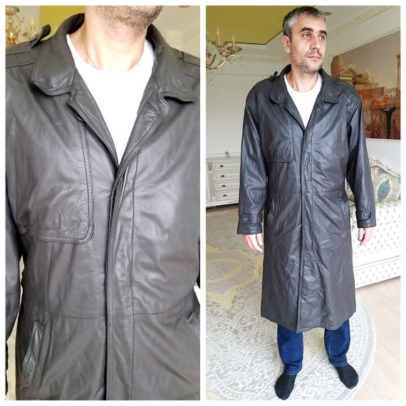 mens Leather Clothing mens Leather Coat vintage me