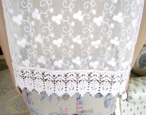 lace blouse white blouse Victorian Clothing Victo… - image 4