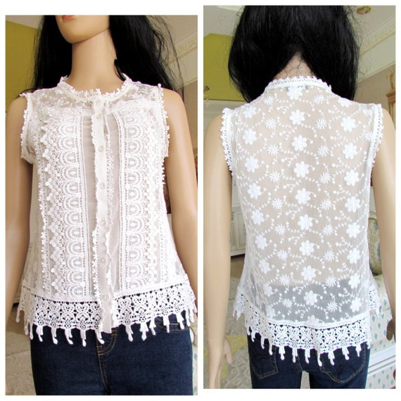 white blouse Victorian Clothing Victorian Blouse c