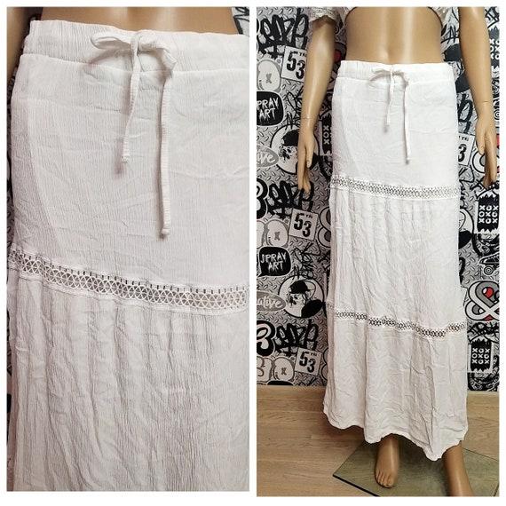 peasant skirt Edwardian skirt Antique Victorian Pe