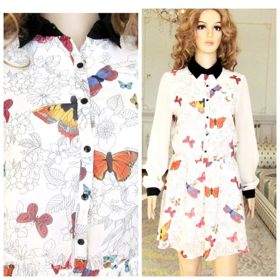 Резултат со слика за photoos of women buterfly print clothes and dresses