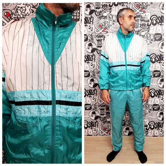 Athletic Clothing Athletic suit mint green track s
