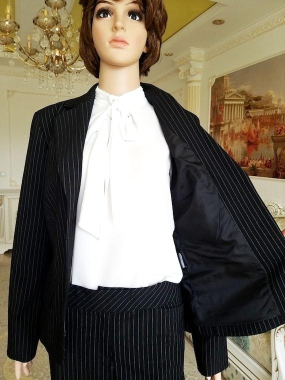 Womens suit vintage Womens pants suit pants set m… - image 2