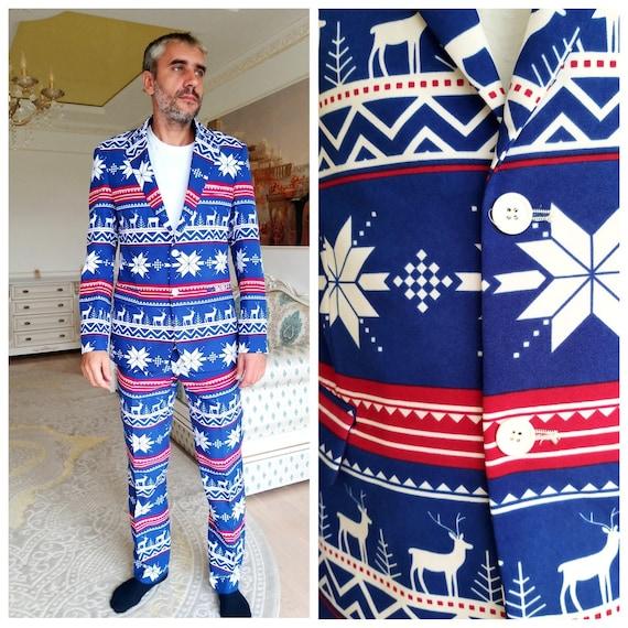 Christmas Gift Mens suit L Mens Christmas suit Chr