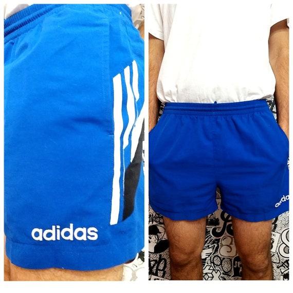 adidas shorts men shorts Vintage 90's Football Sho
