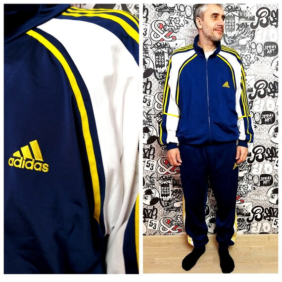 Adidas track suit XL Adidas sport suit vintage  P… - image 1