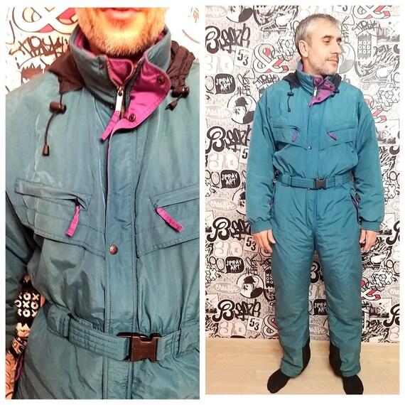 Unisex ski suit Adult Clothing men ski suit XL gre