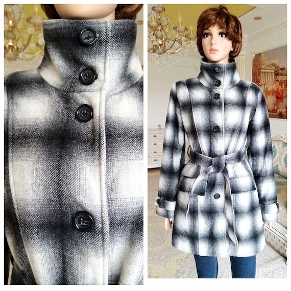 womens wool coat womens coat m Vintage winter coat