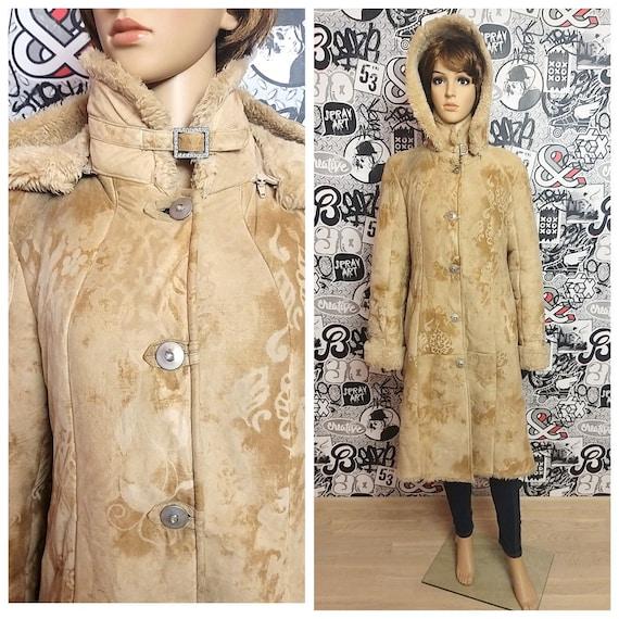 faux fur coat l sheepskin coat women coat Overcoat