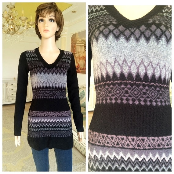 womens sweater Abstract sweater v sweater mohair s