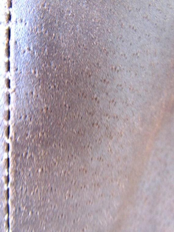 womens Leather blazer 70s retro blazer womens Lea… - image 8