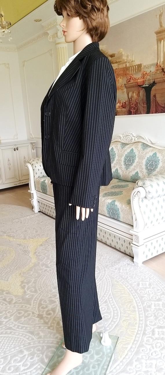 Womens suit vintage Womens pants suit pants set m… - image 6