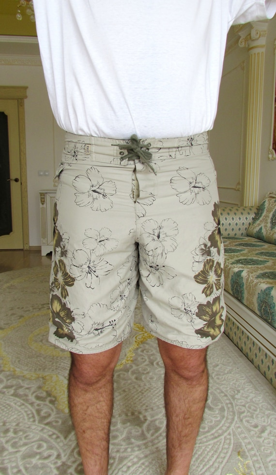 beach shorts summer shorts mens Clothing Khaki me… - image 2