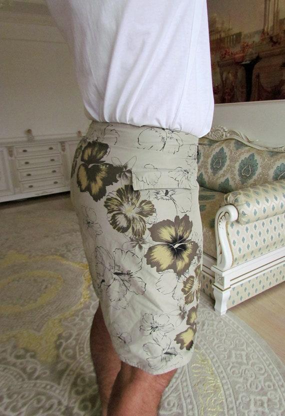 beach shorts summer shorts mens Clothing Khaki me… - image 4