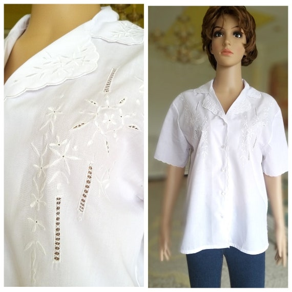 70s white blouse Victorian Clothing Victorian Blou