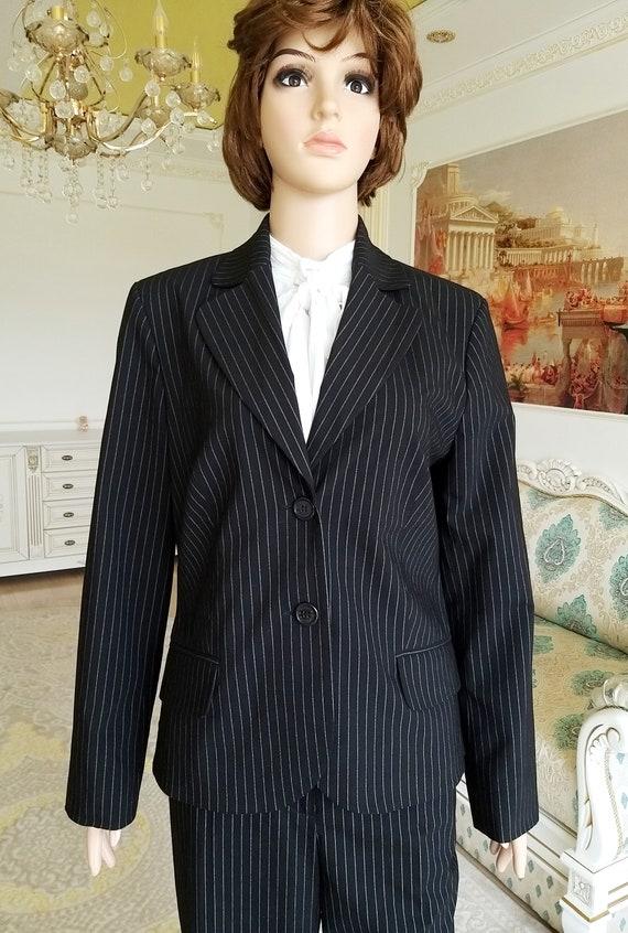 Womens suit vintage Womens pants suit pants set m… - image 5