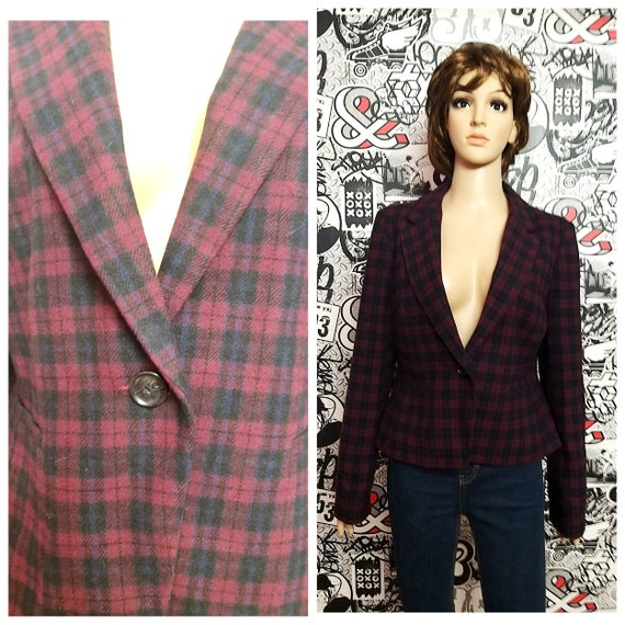 mothers day gift Womens blazer Womens jacket L Tar