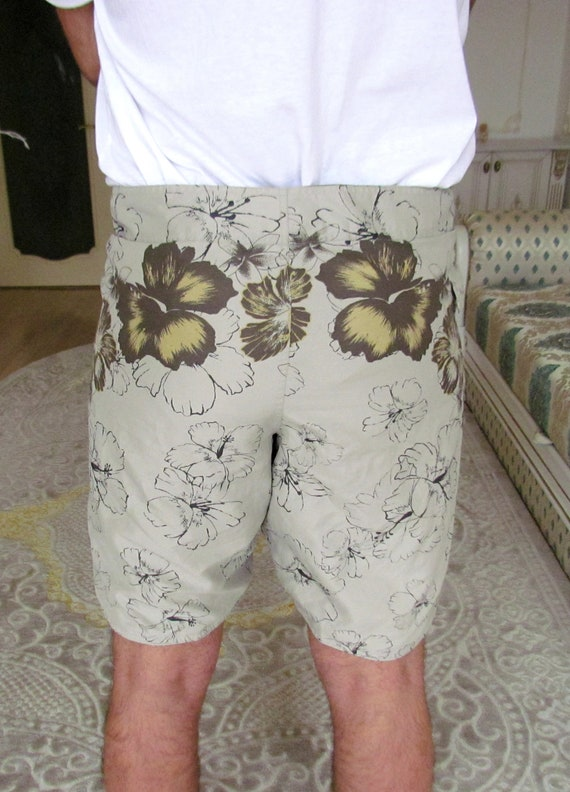 beach shorts summer shorts mens Clothing Khaki me… - image 6