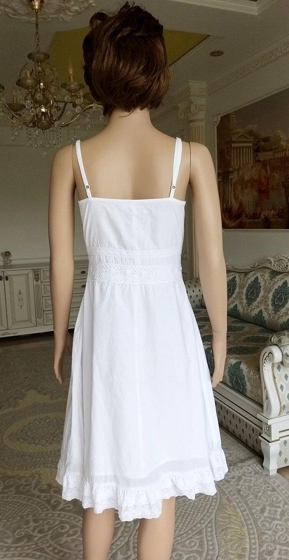 minimalist wedding dress white sundress white dre… - image 6