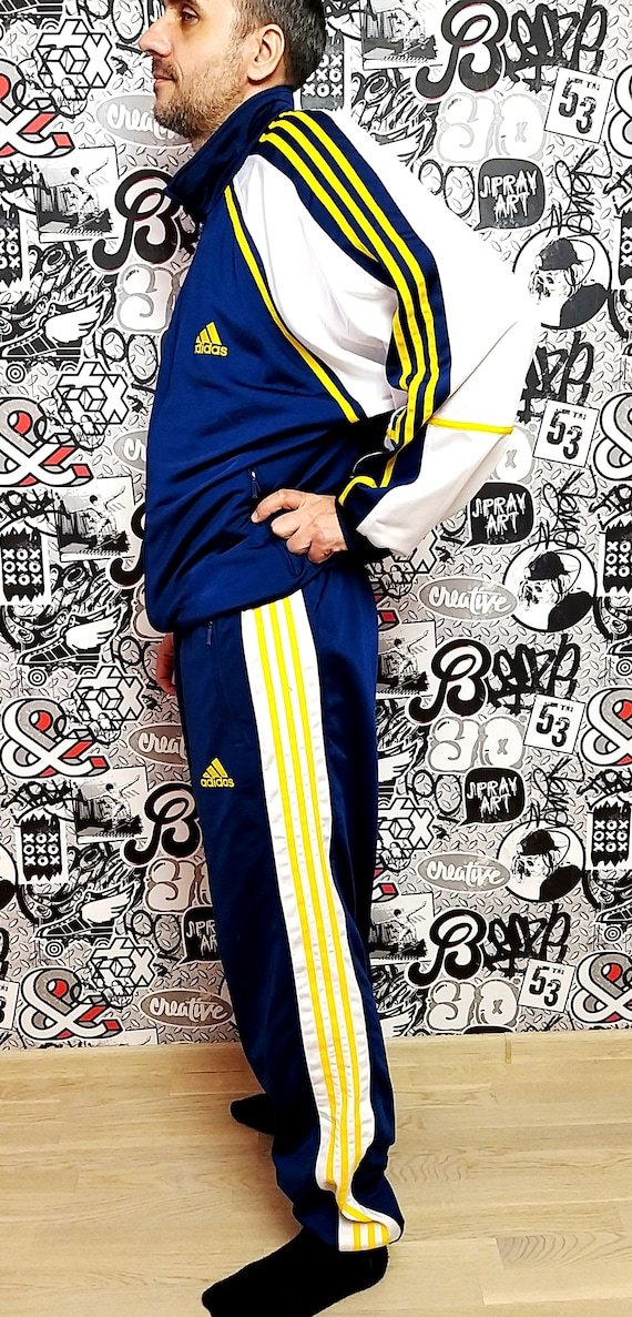 Adidas track suit XL Adidas sport suit vintage  P… - image 8