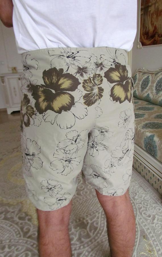 beach shorts summer shorts mens Clothing Khaki me… - image 8
