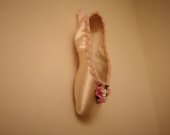d71b98451ac8 Decorated Pointe Shoe (Pink) - Wall Hanging, Decoration or Gift